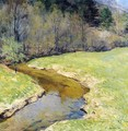 The Sunny Brook, Chester, Vermont - Willard Leroy Metcalf