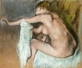 Woman Drying Her Arms - Edgar Degas