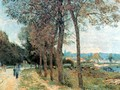 The Seine at Marly - Alfred Sisley