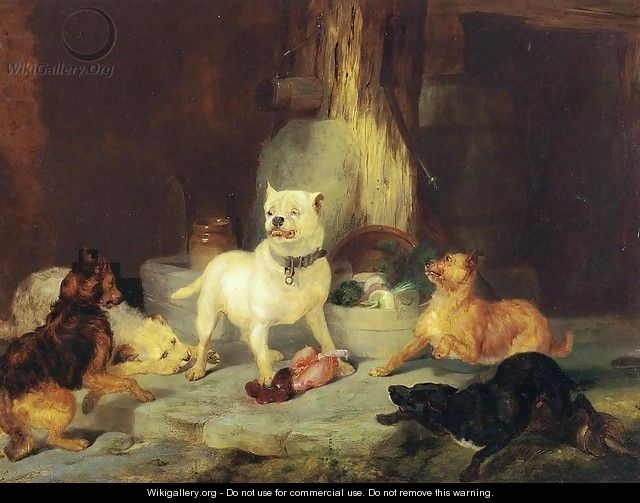 The King of the Castle - Sir Edwin Henry Landseer