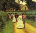 The Wedding March - Edmund Blair Blair Leighton