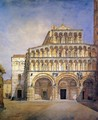 The Facade of the Duomo at Lucca - Henry Roderick Newman