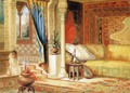 Turkish Room Theater Curtain Sketch - John Wood
