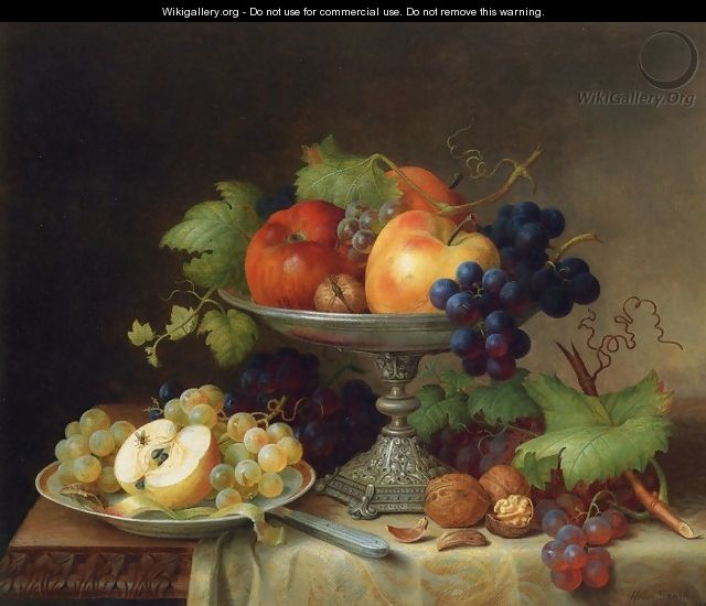 Still Life with Fruit - Helen R. Searle