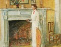 The Mantle Piece - Frederick Childe Hassam