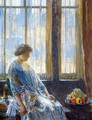 The New York Window - Frederick Childe Hassam