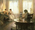 Three Girls Reading - Edmund Charles Tarbell