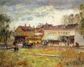 End of the Trolley Line, Oak Park, Illinois - Frederick Childe Hassam