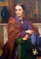 Portrait of Fanny Holman Hunt - William Holman Hunt