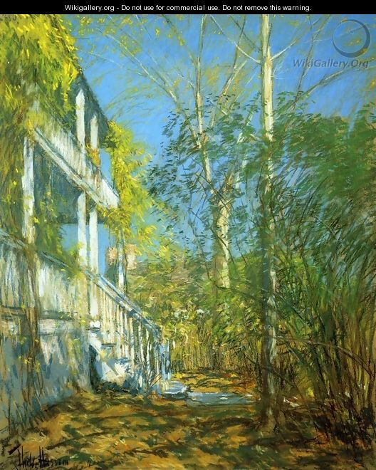 Summer at Cos Cob - Frederick Childe Hassam