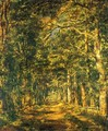 Path amog the Trees at Souliers - Marie Guillaume Charles Leroux