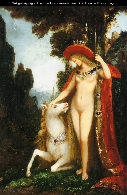 The Unicorne - Gustave Moreau