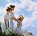 On the Cliff - Charles Curran
