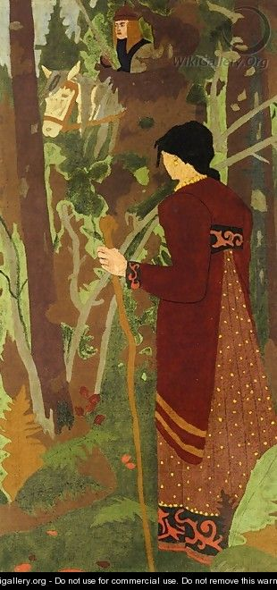 The Fairy and the Knight - Paul Serusier