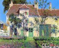 The Garden Behind the House - Gustave Loiseau