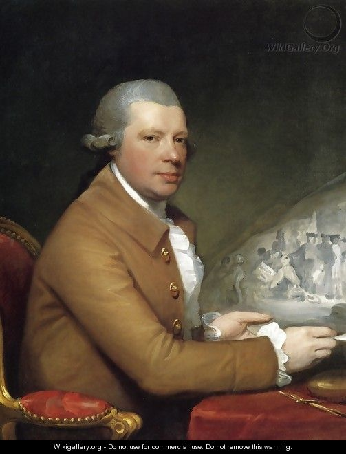 John Hall - Gilbert Stuart