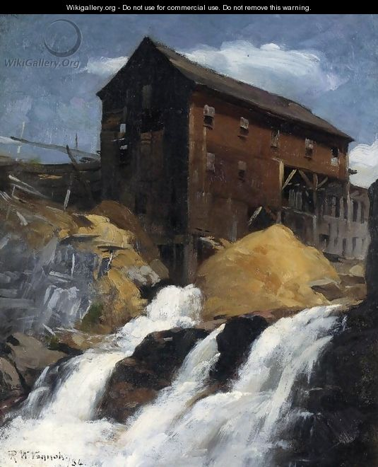 The Mill - Robert William Vonnoh