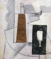 Bottle and Glass I - Juan Gris