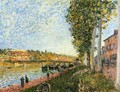 Sunrise at Saint-Mammes - Alfred Sisley