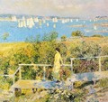 Yachts, Gloucester Harbor - Frederick Childe Hassam