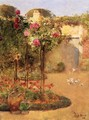 The Rose Garden - Frederick Childe Hassam