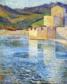 Ramparts at Collioure - Henri Martin
