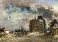 Demolition of the Rue des Franes-Bourgeois - Johan Barthold Jongkind