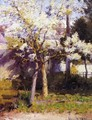 Trees at Gertz - Robert William Vonnoh