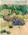Still Life with Grapes - Emile Bernard