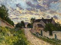 A Path in Louveciennes - Alfred Sisley
