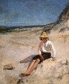 Boy on the Beach - Edmund Charles Tarbell