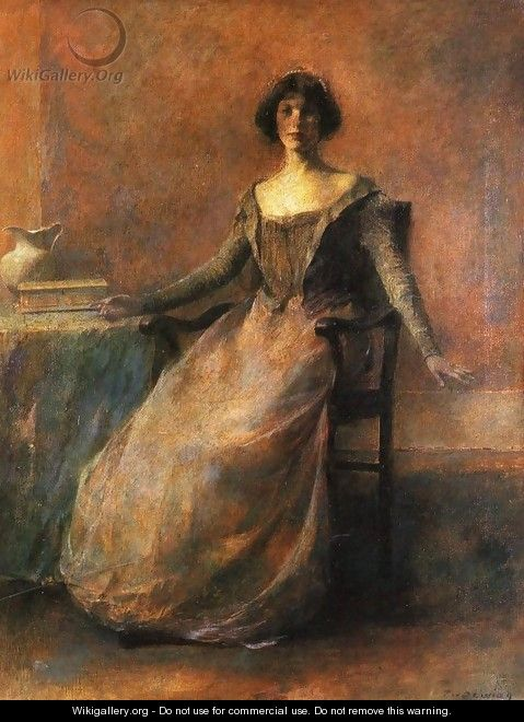 Pandora - Thomas Wilmer Dewing