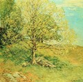 Budding Oak - Willard Leroy Metcalf