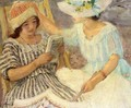Marthe and Nono - Henri Lebasque