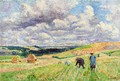 Children in the Fields - Maximilien Luce