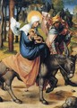 The Flight into Egypt - Albrecht Durer