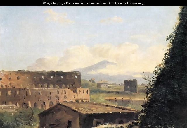 View of the Colosseum - Pierre-Henri de Valenciennes