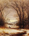 A Winter Walk - Sanford Robinson Gifford