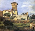 Scene of the Villa Malta - Johan Christian Clausen Dahl