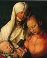 Virgin and Child with St. Anne - Albrecht Durer