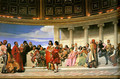 Hemicycle of the Ecole des Beaux-Arts I - Paul Delaroche