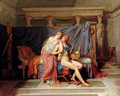 The Courtship of Paris and Helen - Jacques Louis David