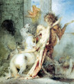Diomedes Devoured by his Horses I - Gustave Moreau