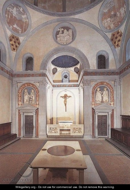 Old Sacristy - Donatello