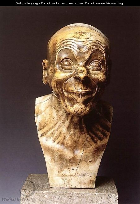 Character Head: The Lecher - Franz Xaver Messerschmidt