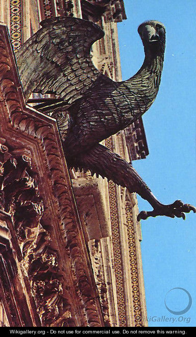 The Eagle: Symbol of St John - Lorenzo Maitani