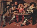 Merry Party in a Tavern 1628 - Dirck Hals