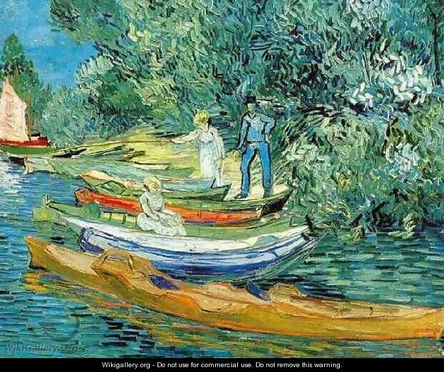 Bank Of The Oise At Auvers - Vincent Van Gogh