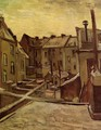Backyards Of Old Houses In Antwerp In The Snow - Vincent Van Gogh