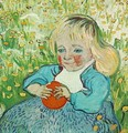 Child With Orange - Vincent Van Gogh